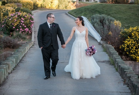 Happy newlyweds - Brentwood - Brentwood, California - Contra Costa County - Wedgewood Weddings