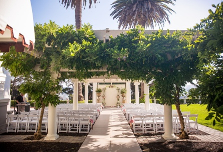 Whimsical ceremony site in the East Bay - Jefferson Street Mansion - Benicia, California - Solano County - Wedgewood Weddings