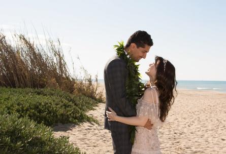 Pacific View Tower Club - Oxnard, California - Ventura County - Beach Couple - Wedgewood Weddings