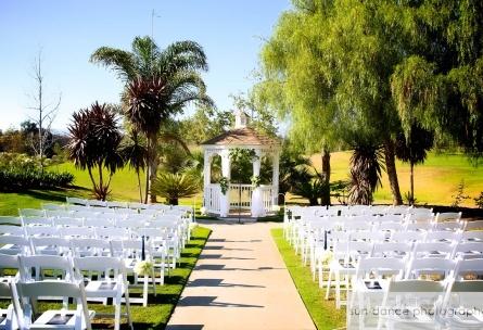 Garden ceremony at Wedgewood Weddings Sterling Hills – Ventura County