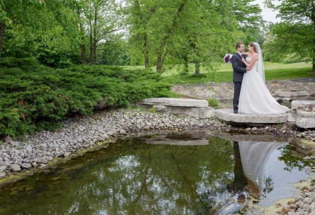 Scenic locations throughout the property for photos - North Shore - Wadsworth, Illinois - Lake County - Wedgewood Weddings