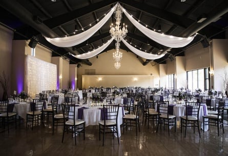 Spacious Ballroom with Elegant Finishes - Black Forest - Colorado Springs, Colorado - El Paso County - Wedgewood Weddings