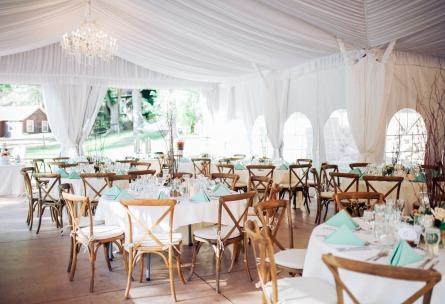 Tented pavilion  - Boulder Creek - Boulder, Colorado - Boulder County - Wedgewood Weddings