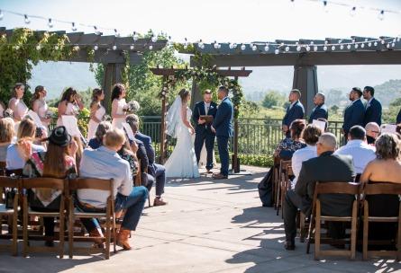 Outdoor ceremony - StoneTree - Novato, California - Marin County - Wedgewood Weddings