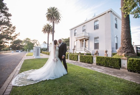Bride and Groom - Jefferson Street Mansion - Benicia, California - Solano County - Wedgewood Weddings