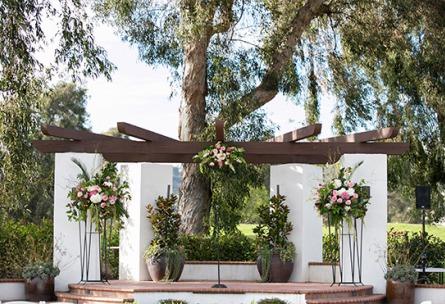 Ceremony pergola - San Clemente - San Clemente, California - Orange County - Wedgewood Weddings