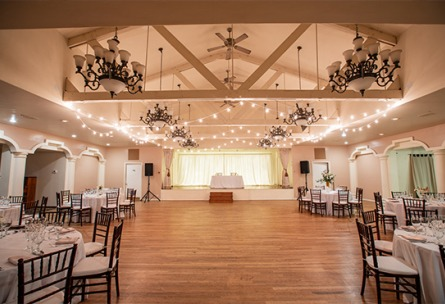 Banquet Hall - Sequoia Mansion - Placerville, California, El Dorado County - Wedgewood Weddings