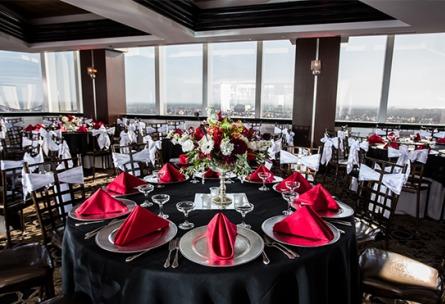 Pacific View Tower Club - Oxnard, California - Ventura County - Banquet Hall