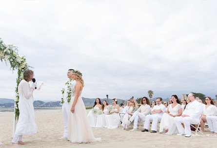 Pacific View Tower Club - Oxnard, California - Ventura County - Beach Ceremony