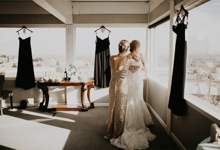Amazingly spacious Bridal suite with views - Brittany Hill - Thornton, Colorado - Adams County - Weld County - Wedgewood Weddings
