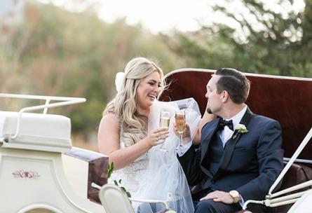 Carruage Toast - Galway Downs - Temecula, California - Riverside County - Wedgewood Weddings