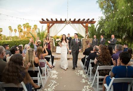 Intimate ceremony space - Menifee Lakes - Menifee, California - Riverside County - Wedgewood Weddings