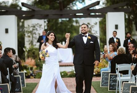 Ceremony celebration - San Clemente - San Clemente, California - Orange County - Wedgewood Weddings