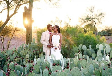 Gorgeous couple - Palm Valley - Goodyear, Arizona - Maricopa County - Wedgewood Weddings