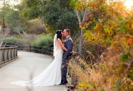 Couple at Sunset - Fallbrook - Fallbrook, California - San Diego County - Wedgewood Weddings