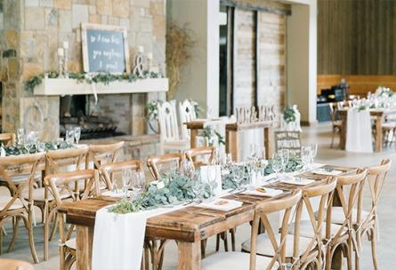 Farm table reception - Galway Downs - Temecula, California - Riverside County - Wedgewood Weddings