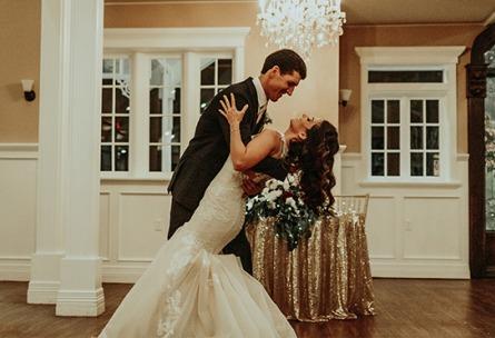 Groom dipping bride - Lindsay Grove - Mesa, Arizona - Maricopa County - Wedgewood Weddings