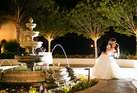 Courtyard Fountain - Fallbrook - Fallbrook, California - San Diego County - Wedgewood Weddings