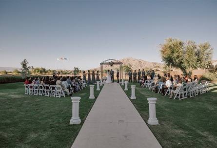 Garden Ceremony - Las Vegas - Las Vegas, Nevada - Clark County - Wedgewood Weddings