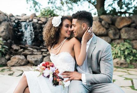 Bride and groom - Evergreen Springs - Elk Grove, California - Sacramento County - Wedgewood Weddings