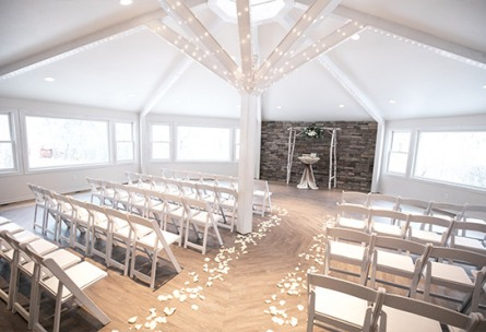 Indoor Ceremony  - Boulder Creek - Boulder, Colorado - Boulder County - Wedgewood Weddings