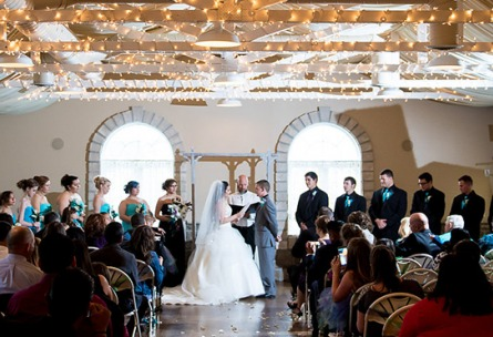 Indoor Reception -  Tapestry House - Laporte, Colorado - Larmier County - Wedgewood Weddings
