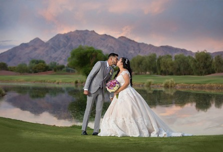 Kiss by the Water - Las Vegas - Las Vegas, Nevada - Clark County - Wedgewood Weddings