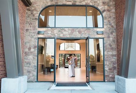 Front entrance - Evergreen Springs - Elk Grove, California - Sacramento County - Wedgewood Weddings