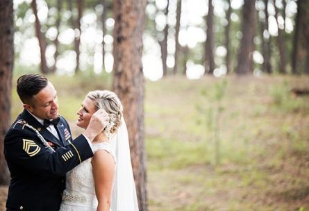 Military Couple - Black Forest - Colorado Springs, Colorado - El Paso County - Wedgewood Weddings