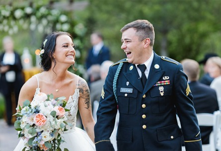 Military Couple  - Boulder Creek - Boulder, Colorado - Boulder County - Wedgewood Weddings
