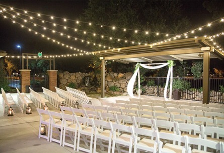 Evening ceremony - Evergreen Springs - Elk Grove, California - Sacramento County - Wedgewood Weddings