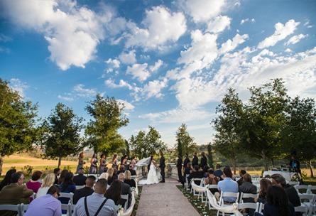 Outdoor Ceremony Site - Vellano - Chino Hills, California - San Bernardino County - Wedgewood Weddings