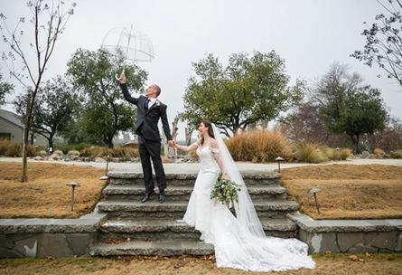 Fun in the rain - Galway Downs - Temecula, California - Riverside County - Wedgewood Weddings