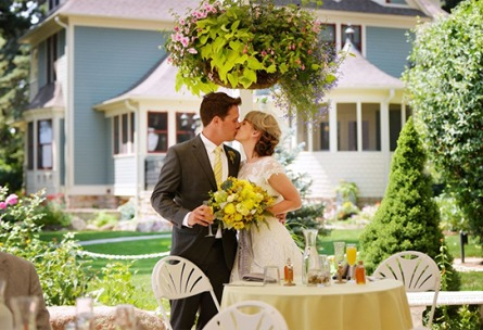 Reception  Tapestry House - Laporte, Colorado - Larmier County - Wedgewood Weddings