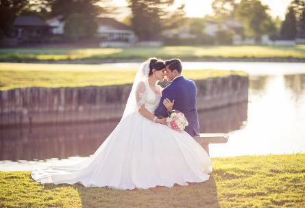 Romantic Couple at Sunset - San Ramon - San Ramon, California - Contra Costa County - Wedgewood Weddings