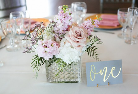 Wedding reception table details - Ashley Ridge - Littleton, Colorado - Arapahoe County - Wedgewood Weddings