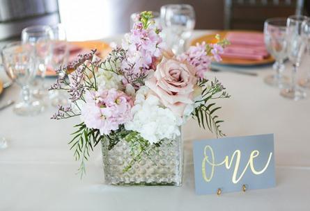 Wedding reception table details - Ashley Ridge - Littleton, Colorado - Arapahoe County - Wedgewood Weddings