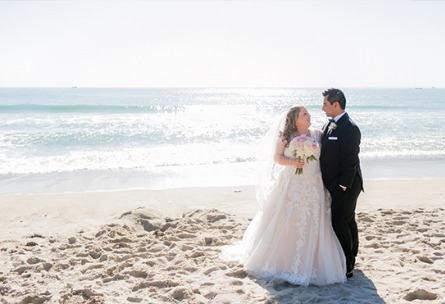 Couple on the beach - San Clemente - San Clemente, California - Orange County - Wedgewood Weddings