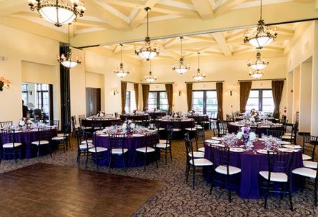 Indoor Ballroom - Fallbrook - Fallbrook, California - San Diego County - Wedgewood Weddings