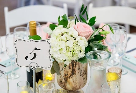 Wedding Table Details - Union Brick - Roseville, California, Placer County - Wedgewood Weddings