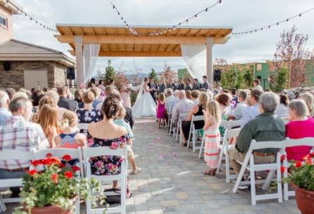 Outdoor ceremony - Ashley Ridge - Littleton, Colorado - Arapahoe County - Wedgewood Weddings