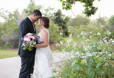 Bride and Groom - Fallbrook - Fallbrook, California - San Diego County - Wedgewood Weddings