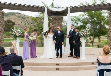 New Ceremony Site - Fallbrook - Fallbrook, California - San Diego County - Wedgewood Weddings