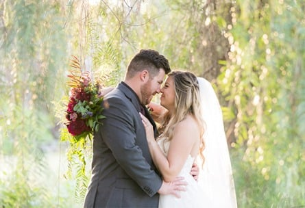Bride and Groom - Fallbrook - Fallbrook, California - San Diego County - Wedgewood Weddings