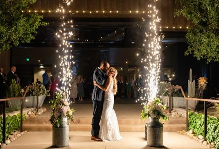 Sparkler Exit  - Galway Downs - Temecula, California - Riverside County - Wedgewood Weddings