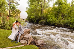 Rustic wedding venue - Wedgewood Weddings Boulder Creek – Boulder, Colorado