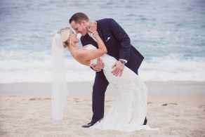 Beach wedding ceremony at Wedgewood Weddings Carmel - Monterey Peninsula