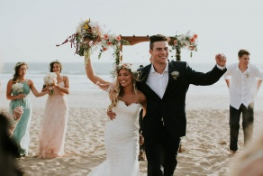 Ventura harbor wedding ceremony - Wedgewood Weddings Tower Club – Ventura County