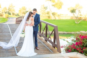 Bride and Groom at Wedgewood Weddings Ocotillo