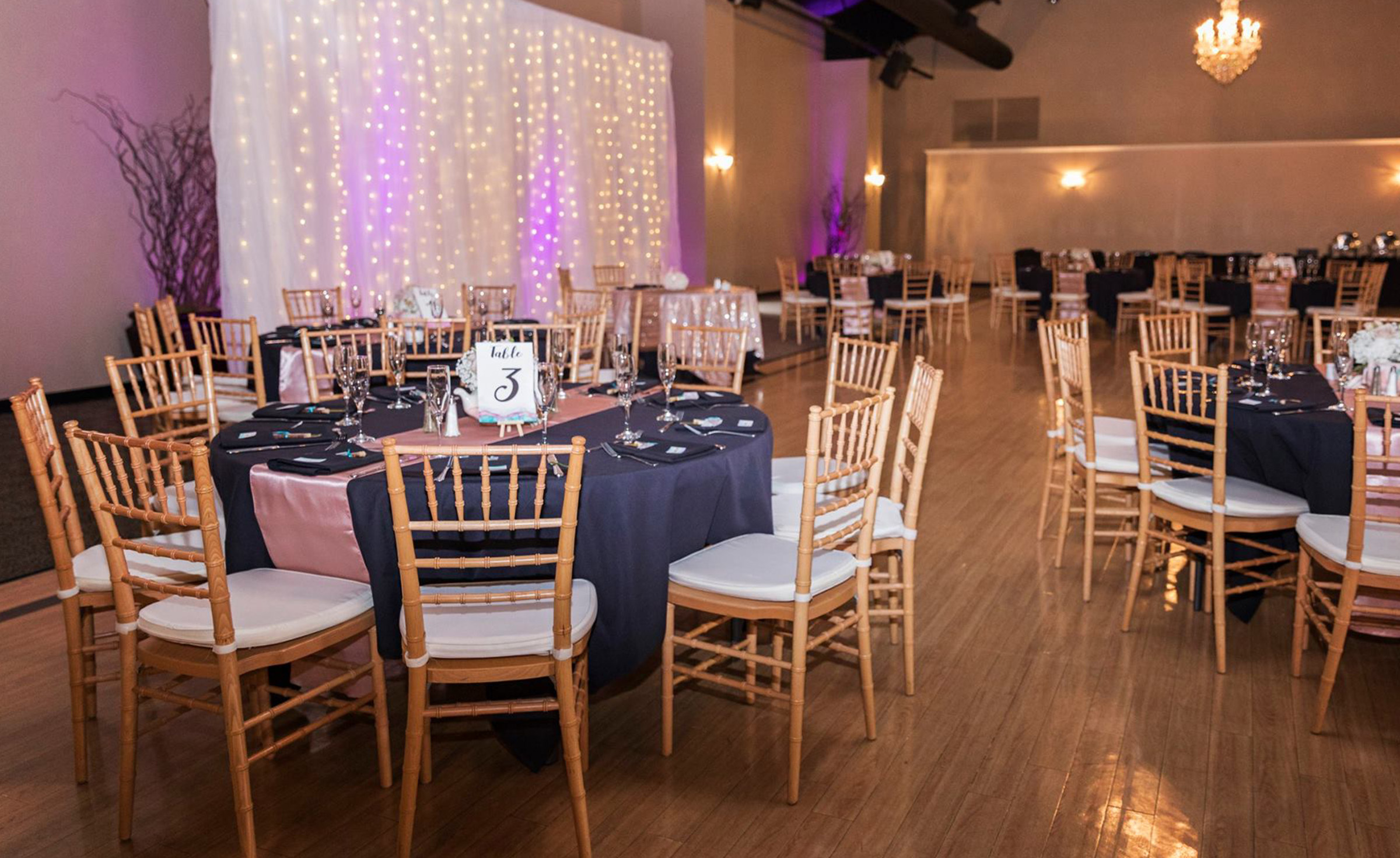 Reception Room - Black Forest - Colorado Springs, Colorado - El Paso County - Wedgewood Weddings
